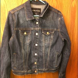 Jean-jacket Maurices (L) button up